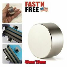 40mm20mm Neodymium Rare Earth Magnet N35 Big Super Strong Large Size Magnets