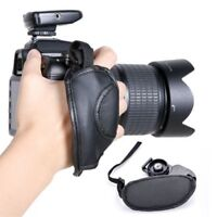 Portable Universal Digital Camera PU Leather Wrist Strap Hand Grip for Nikon