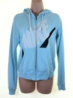 NIKE blue zip up hoodie hoody size  S Small pit to pit 19.5 inches