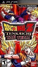 Dragon Ball Z: Tenkaichi Tag Team (Sony PSP, 2010) Complete Game