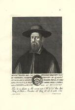 FILIPPO OTTAVIANO BELFORTI VESCOVO VOLTERRA STAMPA ORIGINALE 1700