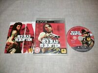 RED DEAD REDEMPTION PS3 PLAYSTATION 3 PREOWNED