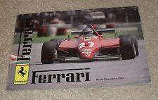 Ferrari Brochure 1983 BB 512i 400i 308 GTB 308 GTS Mondial QV Cabriolet UK