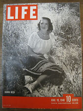 LIFE June 10, 1946 Winesburg, Dunkirk, Ainus, Dulles, D Reed, border collie, POW