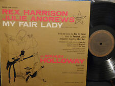My Fair Lady Soundtrack LP Julie Andrews REX HARRISON VG+ Condition