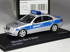 (KI-03-22) Minichamps Mercedes E-Klasse Polizei Hamburg in 1:43 in OVP