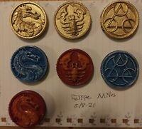Mighty Morphin Power Rangers Legacy Mortal Kombat Printed Coins