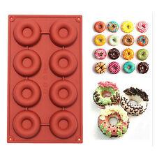 Silicone Donut Moule à Gâteau Chocolat Bonbon Glace Biscuit Savon Cuisine