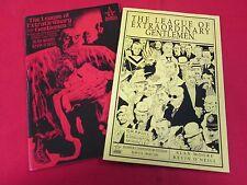 The League Of Extraordinary Gentlemen Vol 2 Parts #1-4 Bumper Compendium 2 Books