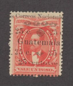 "Guatemala - Sc# 26a MH / ""centovos""    -     Lot 0921499"