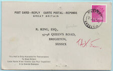 Southern Rhodesia 1971 Postmark for MASHOKO Jul 31 on Reply Post Card