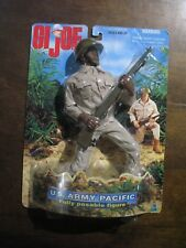 "NEW MISB GI Joe US ARMY PACIFIC AA Black 12"" Action Figure Military"