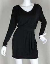 *BCBG GENERATION* DRESS BLACK JERSEY WOMENS SIZE (XS) *DRESSY