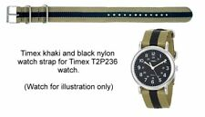 Genuine Timex Replacement Watch Strap for T2P236 Weekender Timex Watch - 20mm
