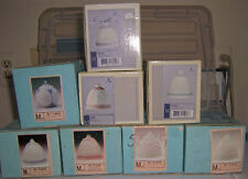 LlAdro Vintage Christmas 7 Bell Plus 1 Ornament New Unused In Boxes Great Buy!