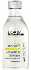 Serie Expert Shampoo Pure Resource Champu Purificante 250ML ProfesionaL
