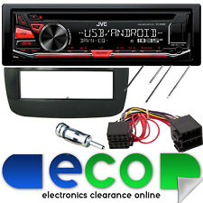 Fiat Punto EVO 2010 JVC CD MP3 USB Aux Car Stereo Radio Fascia Panel Fitting Kit