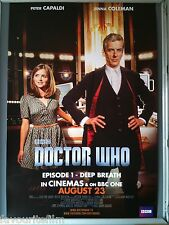 Cinema Poster: DOCTOR WHO DEEP BREATH August 23rd 2014 (One Sheet) Peter Capaldi