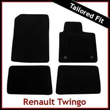 Renault Twingo Mk2 2007-2014 Tailored Fitted Carpet Car Floor Mats BLACK