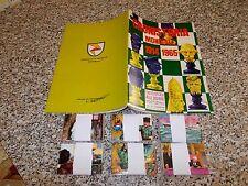 ALBUM CRONISTORIA MONDIALE LA FOLGORE 1966 VUOTO+SET COMPLETO FIGURINE EDICOLA