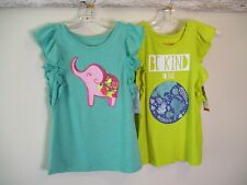 Cat & Jack Brand Girls Clothing Lot Size S 6/6X NWT 3 Tops 1 Skirt Summer