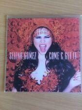 Selena Gomez - Come & Get It - Rare 13 Remix US Cd Promo