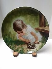 "1986 Donald Zolan's ""Backyard Discovery""  Collector Plate"