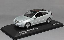 MINICHAMPS Mercedes-Benz C-classe Sportcoupe en argent 430030002 1/43NEW Ltd 2016