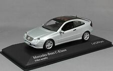 Minichamps Mercedes-Benz C-Class Sportcoupe in Silver 430030002 1/43NEW Ltd 2016