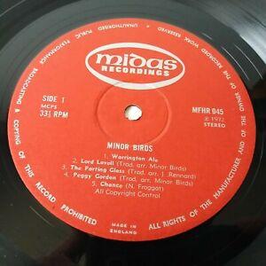 Minor Birds - Self Titled - Vinyl LP Rare Folk 1st Press RECORD ONLY