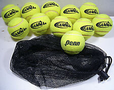 "'Gamma"" Bag Of 10 Pressurless Tennis Balls+1 ""Penn Ball"""