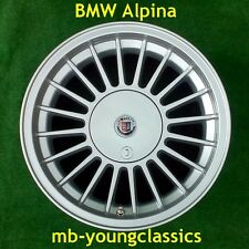 4 new BMW Alpina replica rims 7+8x16  ET 11/24  5x120 E12 E28 E34 E23 E32