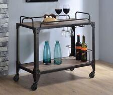 Bar y carrito de bebidas