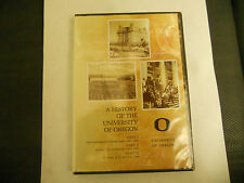 A HISTORY OF THE UNIVERSITY OF OREGON DVD NEW