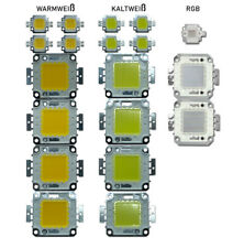 High Power LED Chip 10W 20W 30W 50W 100W weiß warm weiß RGB Aquarium LED DIY COB