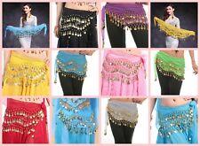 US SELLER- wholesale 10 Belly Dance hippie gypsy Hip Skirt Scarf Wrap Belt