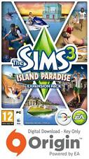 THE SIMS 3 ISLAND PARADISE EXPANSION PACK PC AND MAC ORIGIN KEY