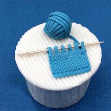 Chocolate Sugar Fondant Mat Baking Tool Silicone Cake Mold Knit Mold Nice Adorn