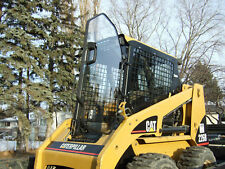 236B 242B 277B LEXAN POLYCARBONATE CAT SKID STEER DOOR and SIDES!  loader