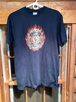 Fire Rescue Gildan T Shirt - Firefighter Size M Short Sleeve