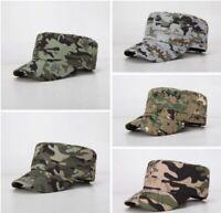 Men Women Military Style Army Cap Cadet Castro Patrol Golf Summer Baseball Hat