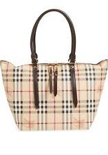 BURBERRY Medium Haymarket Check Salisbury Tote Purse Handbag Tote Dust NWT $895