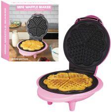 Mini Waffle Maker 1000W Thermostatic Design Non-Stick Plates Global Gizmos