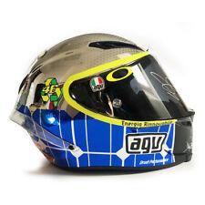Signed Valentino Rossi Helmet AGV Chrome Mugello Corsa - Limited Edition- MotoGP