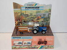 BRITAINS SHOP DISPLAY POWERFARM TW-35 & MANURE SPREADER WORKING MODEL 1980s