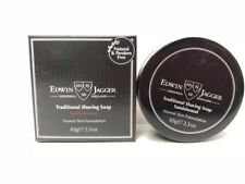 Edwin Jagger 99.9% Natural Traditional Shaving Soap with Travel Case- Sandalwood