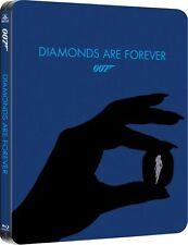 Diamonds Are Forever Limited Edition SteelBook [Blu-ray + Digital, 1-Disc] NEW