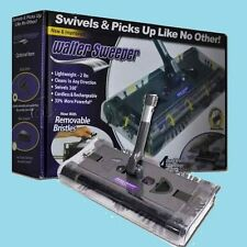 Brand New Walter Swivel Sweeper Latest Cordless Max Quad Brush **