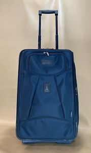 """Travelpro Crew 4 Blue 22"""" Upright Exp Carry-On Rollaboard Suitor Suitcase 7122"""
