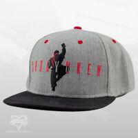 Street Fighter Ryu Shoryuken Snapback Cap Hat Official Grey Uppercut Punch